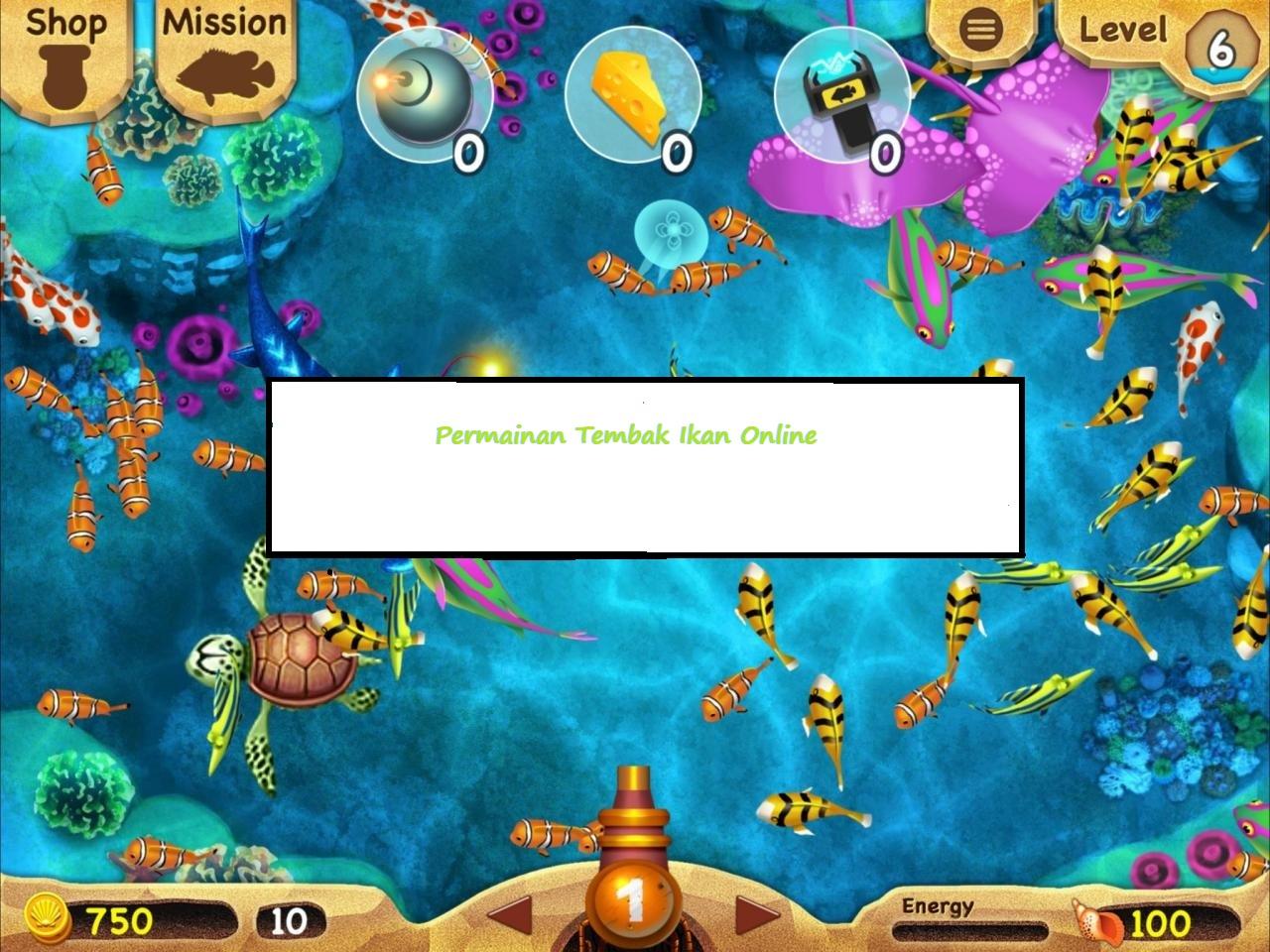 Melaksanakan Permainan Tembak Ikan Online